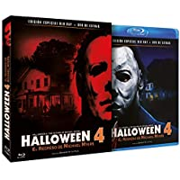 Halloween 4 - El Regreso de Michael Myers BD + DVD de Extras 1988 Halloween 4: The Return of Michael Myers