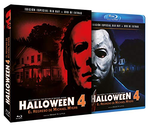 Halloween 4 - El Regreso de Michael Myers BD + DVD de Extras 1988 Halloween 4: The Return of Michael Myers [Blu-ray]