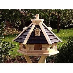 Casa del pájaro Casa pájaro De Madera Tipo 21 - Marrón, sin soporte