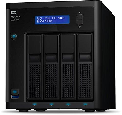 Western Digital 24TB My Cloud EX4100 Expert Series 4-Bay NAS Festplatte - LAN - WDBWZE0240KBK-EESN