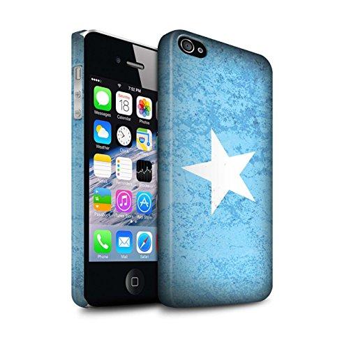 Clipser Matte Coque de Stuff4 / Coque pour Apple iPhone 6 / Tunisie/Tunisien Design / Drapeau Africain Collection Somalie/Somali
