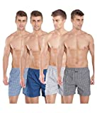 #10: Jockey 1222 Assorted Colors Cotton Boxer (Pack Of 4)