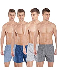 Jockey Men's Cotton Boxers - Pack of 4