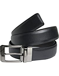 Saugat Traders Reversible Mens Belt Black and Brown-Free Size