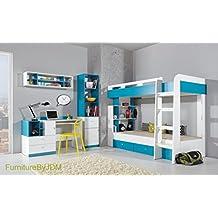 Hochbett/Etagenbett Zusammensetzung Mobi System 19. Kinder/Kinder Möbel  Set. Etagenbett (