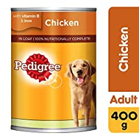 Pedigree Chicken Loaf, Wet Dog Food, Can, 400 gm