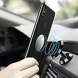 FLOVEME - Supporto Magnetico per Telefono da Auto, Multi-Angolo di Ventilazione, per iPhone X/ 8/ 8P/ 7/6/ 5s, Samsung S9/S8/S7, Note 8/5, HTC, LG ECC.