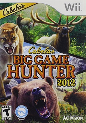 Cabela's Big Game Hunter 2012 SAS - Nintendo Wii by Activision