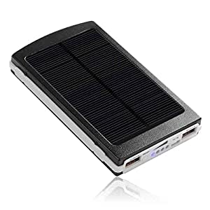 Fabdy SPB-12 Solar Power Bank 20,000 MAH - Black