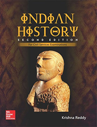INDIAN HISTORY BY KRISHNA REEDY (Second edition) 2017