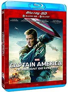 Captain America : Le soldat de l'hiver -Combo Blu-ray 3D + Blu-ray 2D [Blu-ray] [Combo Blu-ray 3D + Blu-ray 2D] (B00J8Q94E0) | Amazon price tracker / tracking, Amazon price history charts, Amazon price watches, Amazon price drop alerts