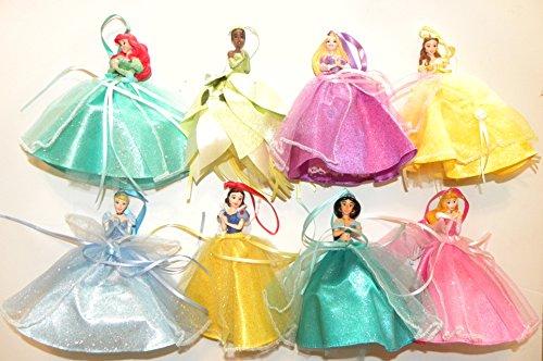 Disney World WDW Park Set alle 82014Prinzessin Puppe Abendkleid Kleid Ariel Belle Jasmin Snow weiß aroura Rapunzel Cinderella Tiana Weihnachtsschmuck Figuren Dumbo (Prinzessin Tiana Kleid)