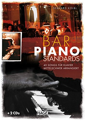 Bar-Piano-Standards-40-Songs-fr-Klavier-mittelschwer-arrangiert-mit-2-CDs