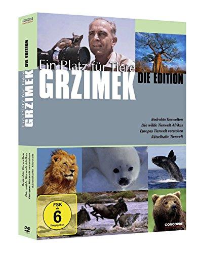 Grzimek: Ein Platz für Tiere - Die Edition [4 DVDs] - Vier Plätze