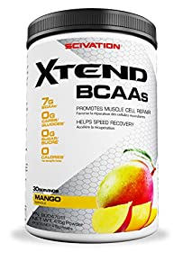 Xtend BCAAs Mango Nectar 415g 30 serve from SCIVATION