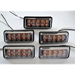 5 x 12 V LED anteriore laterale luci bianche per camion caravan camper camion camper