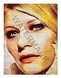 JR Bouvier Emilie de Ravin Actress Large Art Print Poster 32x24 inch Grand Art Affiche