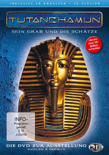 Tutanchamun - Sein Grab und die Schätze 3D ( 2D und 3D anaglyph - inkl. 2 Brillen) (ägyptische Filme)