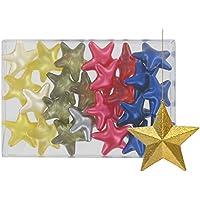 """Caja de 24 perlas de baño """"fantasías"""" – Estrellas 4 aromas"""