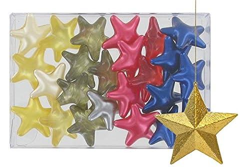 Box of 24 oil bath pearls - Stars 4 fragrances