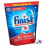 from Finish Finish All-in-1 Max Lemon Dishwasher Tablets (Pack of 90)