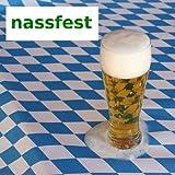 JUNOPAX 50m x 0,20m Papier Tischband Fußball | nass- und wischfest - 7