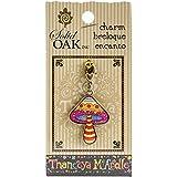 Solid Oak en chêne Massif thaneeya (R) LLC Charm Champignon en Acrylique, Acrylique, Multicolore, 3pièces