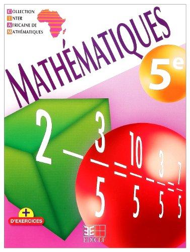 Mathematiques 5e Ciam Ned Eleve