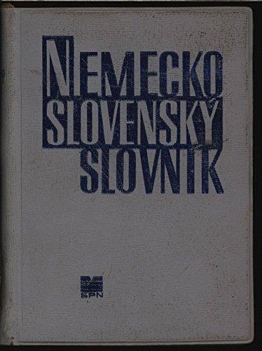 Deutsch-slowakisches Wörterbuch.