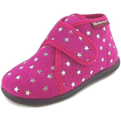 Naturino, Pantofole bambini, rosa (Fucsia), 21