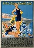 The Poster Corp Unknown - San Sebastian/Piscina Familias