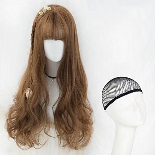 Chang Xiang Ya Shop Longues Perruques Longues Perruques de Femmes Perruques Longues Douces Naturelles moelleuses de Mode Perruque Pleine Couleur de Couleur