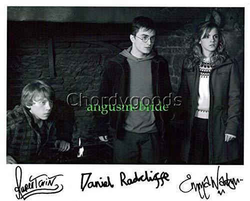 Harry Potter Cast - 238 Sexy Photo Autograph Autographed photo Signed Autogramm Reprint cm 13 * 10 RP 6