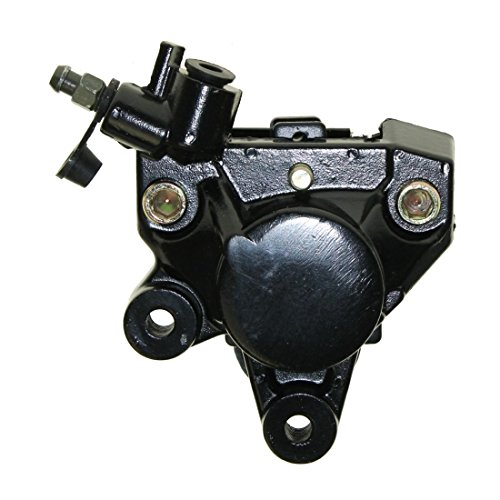 Sella 1pistone freno anteriore nero-Grimeca, Gilera Runner, Peugeot Speedfight, Yamaha Aerox, BWS, Neos, MBK BOOSTER, Nitro