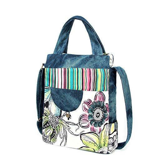 Ms. Messenger Bag/borsa di tela Casual/borsa a tracolla/versione coreana del piccolo pacchetto piazza-A A