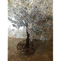 Rosenquarz Energetische Edelstein Baum, auf einem Boden Orgonite, Geschenkidee, Reiki Healing preisvergleich bei billige-tabletten.eu