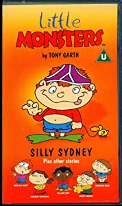 Little Monsters Silly Sidney Plus Other Stories Vhs