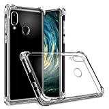 Hually Case for Huawei P20 lite, P20 lite case Crystal