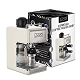 LIVIVO Professional Espresso Cappuccino Coffee Maker Machine with Milk Frothing Arm for Home and Office