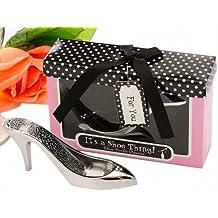Gracias novedad regalos para invitados zapato de tacón alto forma abridores de botella de vino