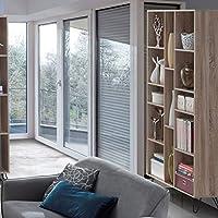 Maison Concept Mona Shelf, Beige - H 1954 x W 300 x D 1020 mm