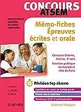Concours Atsem Mémo-fiches: Ecrit Et Oral - L'essentiel À Retenir