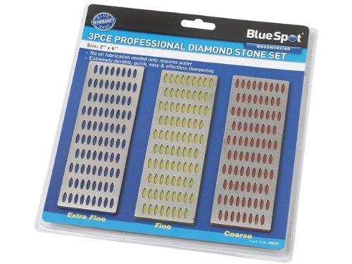 Blue Spot 19275 Kit de pierre à poncer diamant 3 pièces (Import Grande Bretagne)