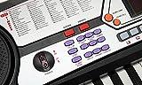 McGrey BK-5410 Clavier 54 touches 100 sonorités 100 rythmes Fonction apprentissage Microphone Pupitre Bloc d\'alimentation inclus