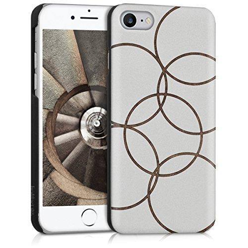 kalibri-Schutzhlle-aus-Holz-mit-Laser-Gravur-fr-Apple-iPhone-7-Premium-Case-Cover-mit-Kunststoff-im-Bubbles-Design