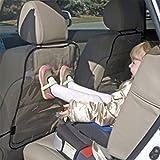 Finoki 2pcs Rücklehnenschutz Autositz Schutz Abdeckung Schutzmatte für Sitz Rückseite einfach abwaschbar schnell montage–Rückenlehnenschutz transparent