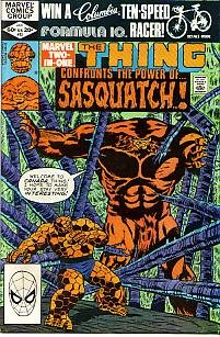 Marvel Two-In-One # 83 (Thing & Sasquatch) -