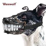 Hunde-Maulkorb, größenverstellbar, atmungsaktiv, für erhöhte Sicherheit, erhältliche Größen: S / M / L