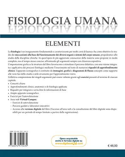Zoom IMG-1 fisiologia umana elementi con contenuto