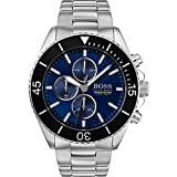 Hugo Boss Mens Chronograph Quartz Watch with Stainless Steel Strap 1513704